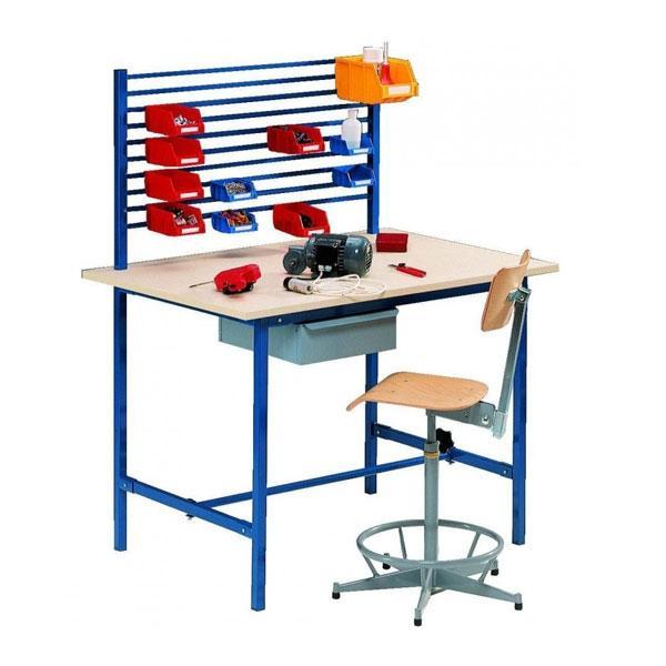 tables de travail quipement d atelier. Black Bedroom Furniture Sets. Home Design Ideas