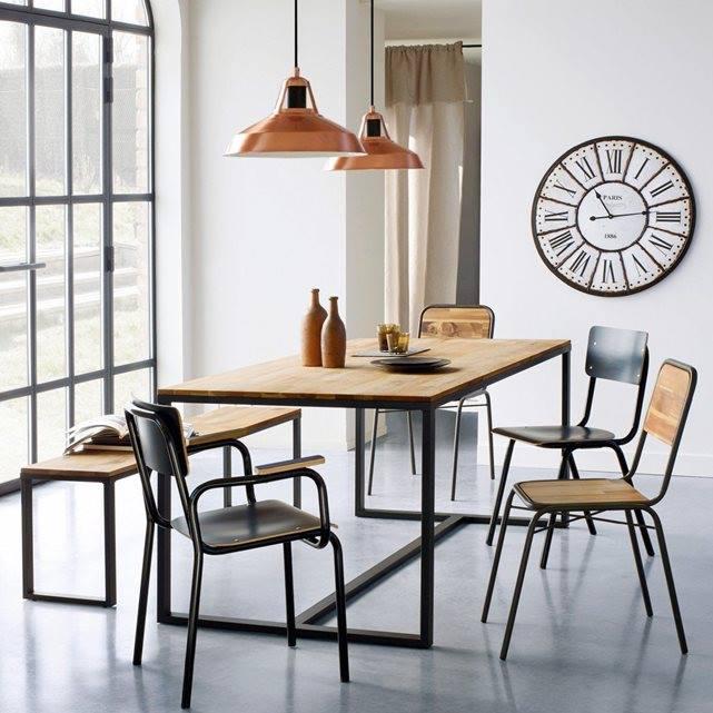 Table de salle à manger style industriel | Divers